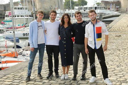 Stock Photo of Nicolas Bowens, Tommy-Lee Baik, Aure Atika, Ilian Bergala and Felix Maritaud
