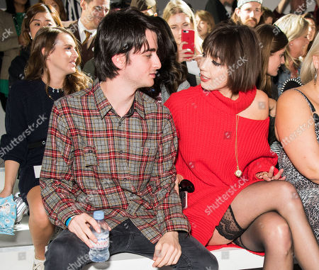 Alfie Goffey and Daisy Lowe in the front row