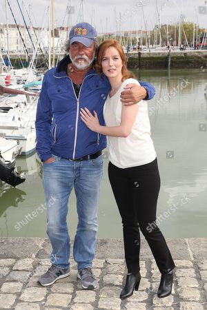 Olivier Marchal and Erika Sainte