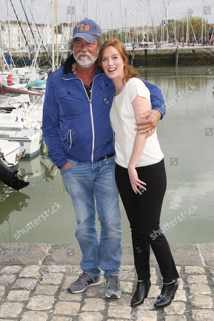 Stock Picture of Olivier Marchal and Erika Sainte