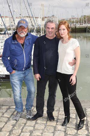 Stock Image of Olivier Marchal, Jean-Christophe Grange and Erika Sainte