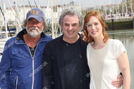 Olivier Marchal, Jean-Christophe Grange and Erika Sainte