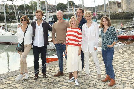 Guest, Nicolas de Saint Medeuc, Nicolas Gob, Anne Marivin, Thomas Anargyros, Sylvie Audcoeur and Anne Fregonese