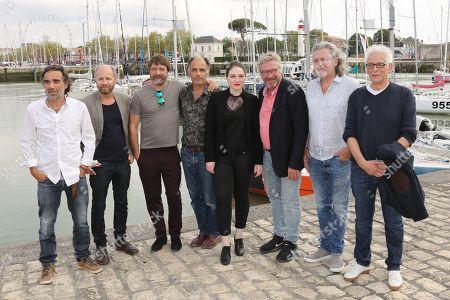 Wim Willaert, Frederic Pierrot, Emilie Dequenne, Laurent Bateau and the team of the film 'Une vie apres'