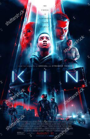 Kin (2018) Poster Art Zoe Kravitz as Milly, Myles Truitt as Eli Solinski, Jack Reynor as Jimmy Solinski, James Franco as Taylor Balik