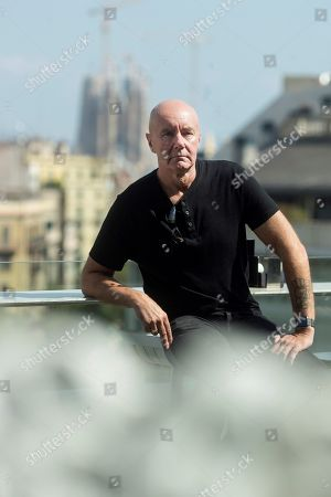 Scottish writer Irvine Welsh poses for the photographer during the presentation of his novel 'A Decent Ride' in Barcelona, Spain, 14 September 2018.