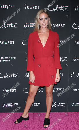 Editorial picture of 'Colette' film screening, Arrivals, New York, USA - 13 Sep 2018