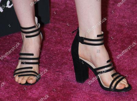 Stock Photo of Theodora Miranne, shoe detail