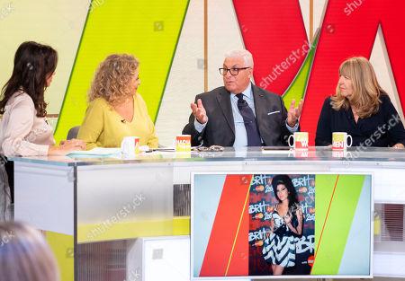 Andrea McLean, Nadia Sawalha, Mitch Winehouse and Jane Winehouse