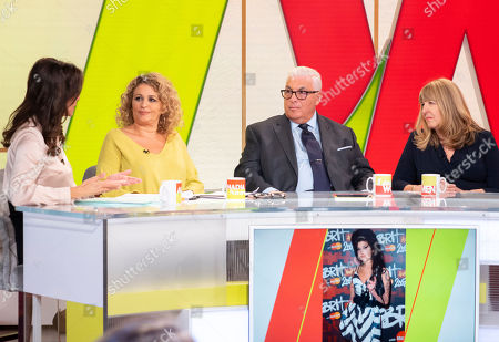 Stock Picture of Andrea McLean, Nadia Sawalha, Mitch Winehouse and Jane Winehouse