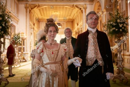 Anthony Head as Lord Steyne and Sally Phillips as Lady Steyne.