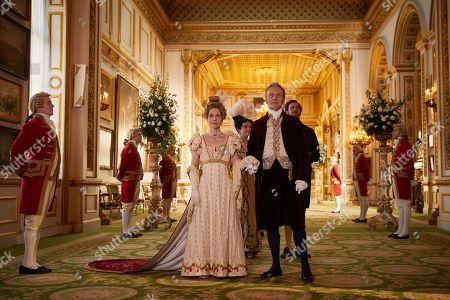 Editorial image of 'Vanity Fair' TV Show, Series 1, Episode 6 UK  - 30 Sep 2018