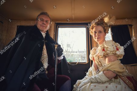 Anthony Head And Sally Phillps as Lord and Lady Steyne.