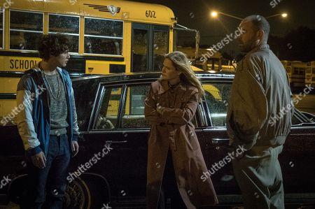 Stock Picture of Richie Merritt as Rick Wershe Jr., Jennifer Jason Leigh as FBI Agent Alex Snyder, Rory Cochrane as FBI Agent Frank Byrd