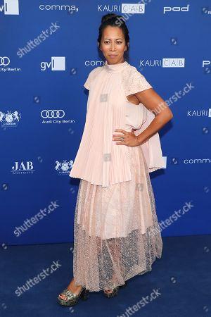 German actress Minh-Khai Phan-Thi arrives to the German Drama Award (Deutscher Schauspielpreis) in Berlin, Germany 14 September 2018.