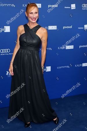 German actress Andrea Sawatzki arrives to the German Drama Award (Deutscher Schauspielpreis) in Berlin, Germany 14 September 2018.