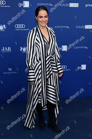 German actress Verena Altenberger arrives to the German Drama Award (Deutscher Schauspielpreis) in Berlin, Germany 14 September 2018.