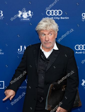 Stock Image of German actor Joerg Schuettauf arrives to the German Drama Award (Deutscher Schauspielpreis) in Berlin, Germany 14 September 2018.