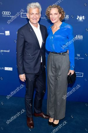 Editorial image of German Drama Award in Berlin, Germany - 14 Sep 2018