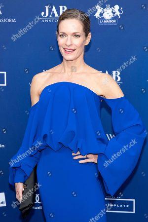 Stock Photo of Lisa Martinek arrives to the German Drama Award (Deutscher Schauspielpreis) in Berlin, Germany 14 September 2018.