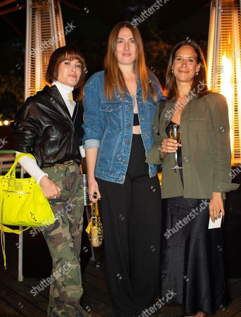 Stock Image of Julia Hobbs, Niomi Smart and Julia Brenard