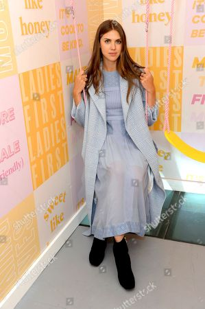 Editorial image of Bumble x Charlotte Simone launch party, The BFF Hub, Spring Summer 2019, London Fashion Week, UK - 14 Sep 2018