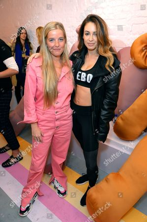 Editorial picture of Bumble x Charlotte Simone launch party, The BFF Hub, Spring Summer 2019, London Fashion Week, UK - 14 Sep 2018