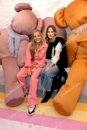 Stock Image of Charlotte Beecham and Rosie Fortescue