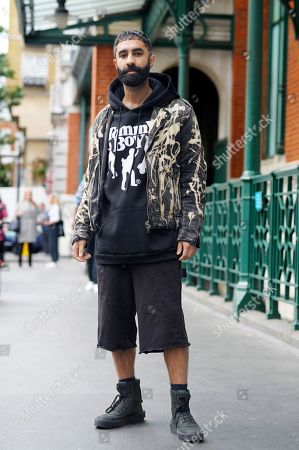 Editorial photo of Street Style, Spring Summer 2019, London Fashion Week, UK - 14 Sep 2018