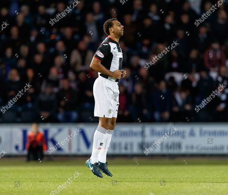 Anton Ferdinand of St. Mirren makes his debut for the club.