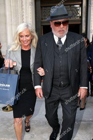 Elaine Winstone and Ray Winstone