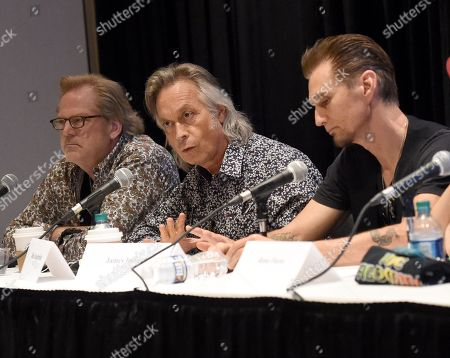 Singer/Songwriters John Jorgenson, Jim Lauderdale and James Intveld