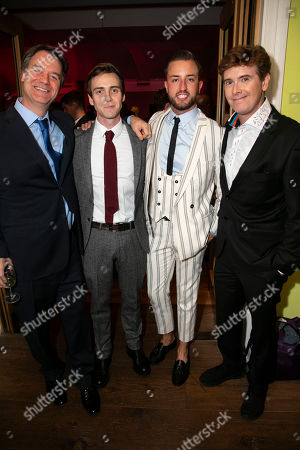 Kevin Murphy (Music/Lyrics), Jamie Muscato (Jason Dean), Paul Taylor-Mills (Producer) and Laurence O'Keefe (Music/Lyrics)
