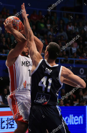 Editorial image of Argentina FIBA World Cup Qualifiers, MEX, Mexico - 14 Sep 2018