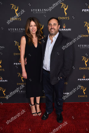 Jeff Schaffer attends the 2018 Producers Nominee Reception on in Beverly Hills, Calif