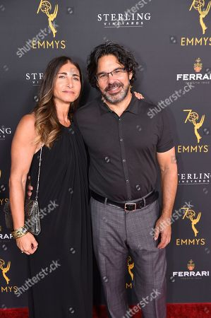 Ken Biller and guest attends the 2018 Producers Nominee Reception on in Beverly Hills, Calif