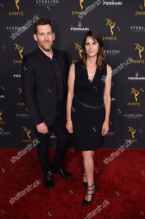 Stock Photo of Leslie Kolins Small and Ben Roy attend the 2018 Producers Nominee Reception on in Beverly Hills, Calif