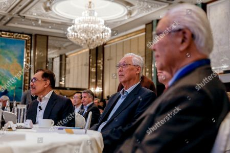Editorial picture of Former Malaysian Deputy Prime Minister Anwar Ibrahim at Singapore Summit - 15 Sep 2018
