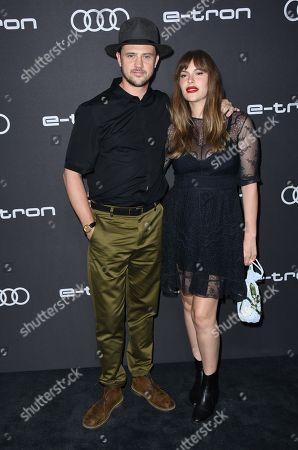 Boyd Holbrook and Tatiana Pajkovic