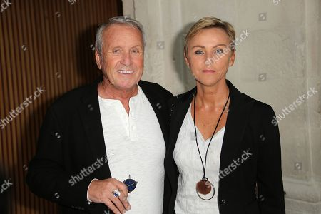 Yves Renier and his wife Karine Renier