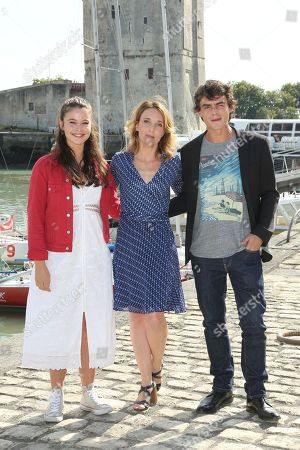 Marilou Aussilou, Alix Poisson and Pierre Perrier