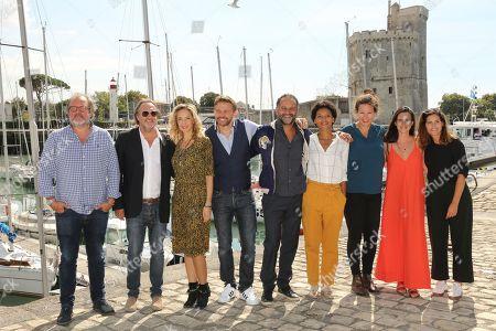 Editorial photo of 'Balthazard' photocall, La Rochelle TV Fiction Festival, France - 14 Sep 2018