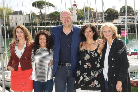 Stock Picture of Violaine Fumeau, Sabrina Ouazani, Jean-Pierre Ameris, Murielle Magellan and Florence Huige