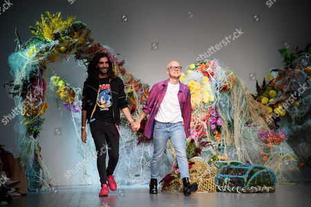 Editorial image of Fyodor Golan show, Spring Summer 2019, London Fashion Week, UK - 15 Sep 2018