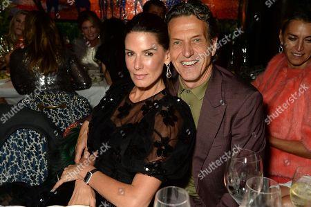 Christina Estrada and Stephen Webster