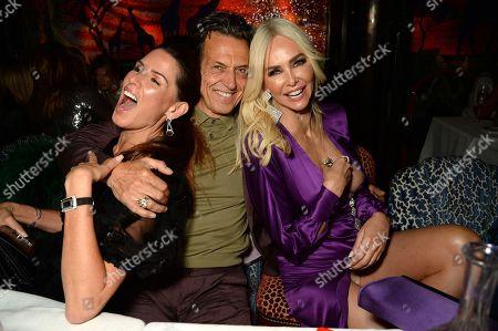 Christina Estrada, Stephen Webster and Amanda Cronin