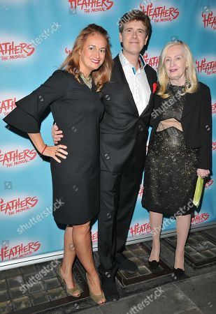 Laurence O'Keefe with Nell Benjamin & mother-in-law
