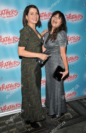 Sadie Frost and Frances Ruffelle