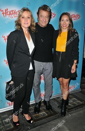 Geraldine Wayne, Jeff Wayne and Anna-Marie Wayne