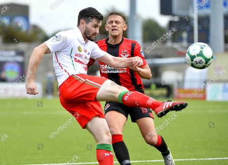 Editorial picture of Danske Bank Premiership, Seaview, Belfast  - 15 Sep 2018